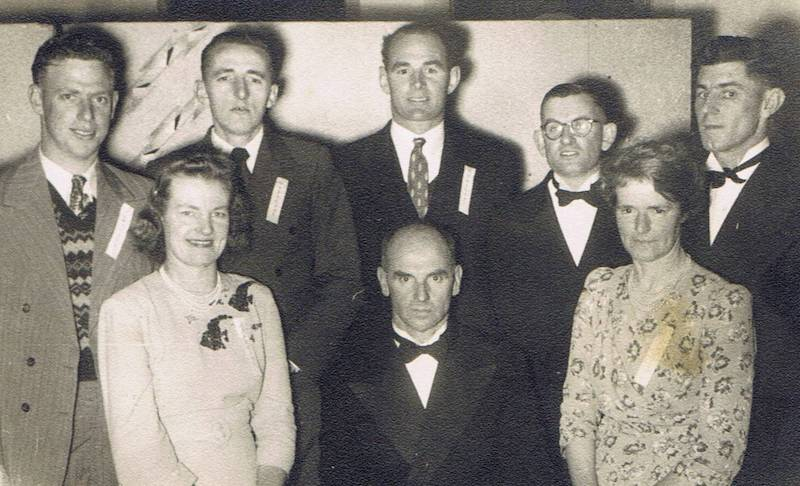 Committee Members Anniversary party in 1948