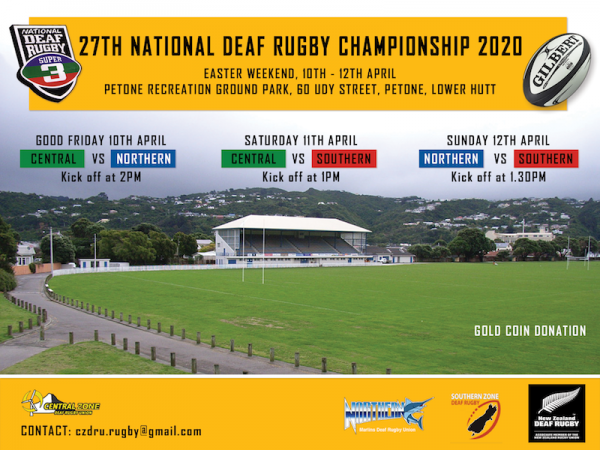 27th national deaf championship 2020 A4 Version