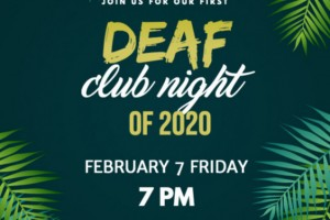 Deaf Club Friday February 2020
