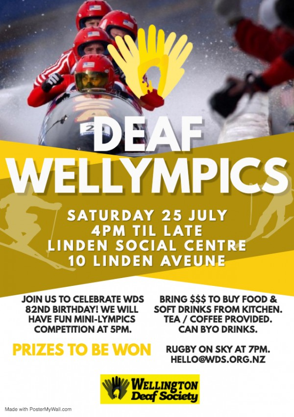 Deaf Wellympics
