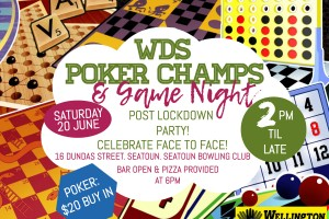 WDS Poker and Games Lockdown Party June 2019