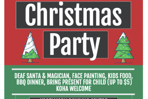 Wellington Deaf Community Combined Xmas Party 2019