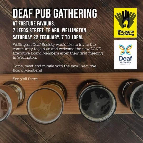 Deaf Pub Gathering February 2020